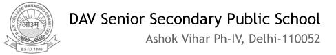 D.A.V. SENIOR SECONDARY PUBLIC SCHOOL, Ashok Vihar